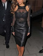 Nicole Scherzinger see through