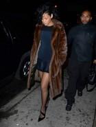 Rihanna see thriugh dress