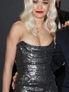 Rita Ora cleavage