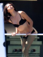 Adriana Lima lingerie photoshoot