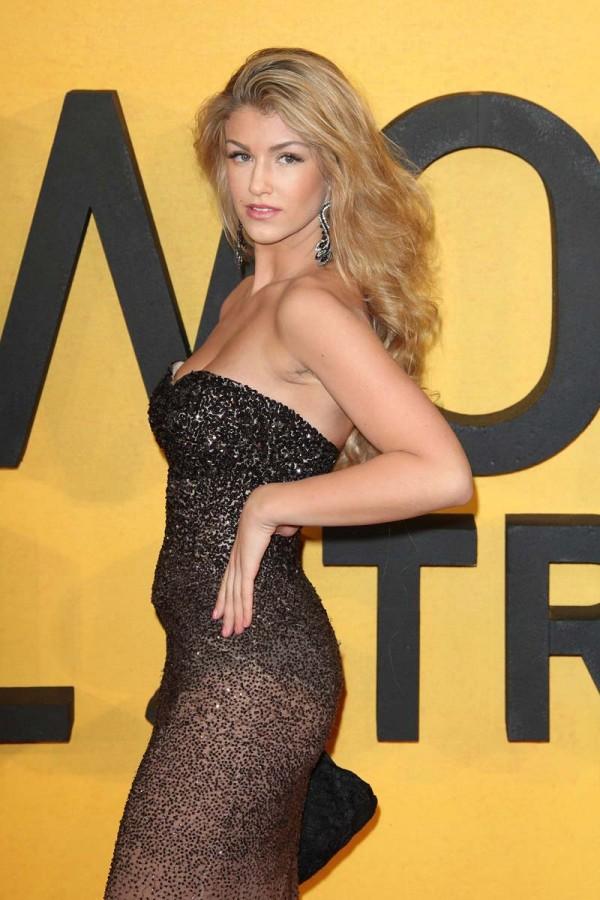 Amy Willerton hot see through dress