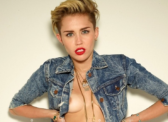 Miley Cyrus nip slip for YOU Magazine