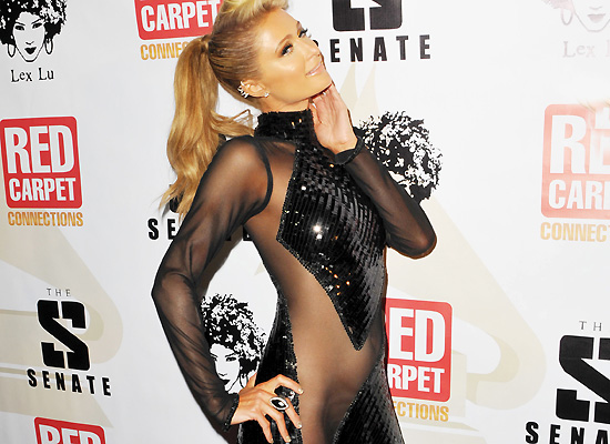 Paris Hilton see through