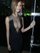 Zahia Dehar see through cleavage