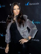 Adriana Lima at 'Leather & Laces' Party