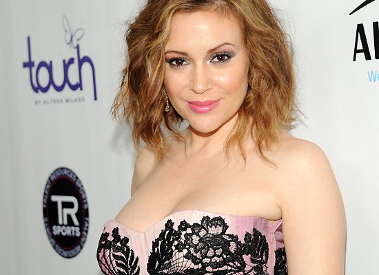 Alyssa Milano Super Bowl