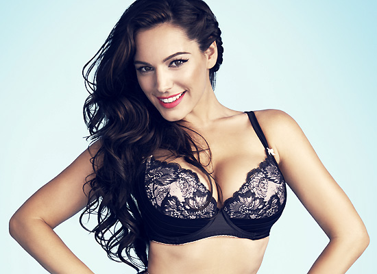 Kelly Brook New Look lingerie