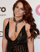 Britney Spears at 22nd Annual Elton John AIDS Foundation Academy Awards