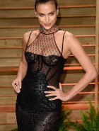 Irina Shayk at 2014 Vanity Fair Oscar Party