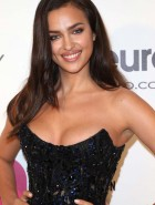 Irina Shayk at Elton John AIDS Foundation Academy Awards