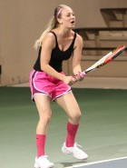 Kaley Cuoco tennis match