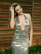 Miranda Kerr at 2014 Vanity Fair Oscars Party
