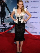 Scarlett Johansson 'Captain America: The Winter Soldier' premiere
