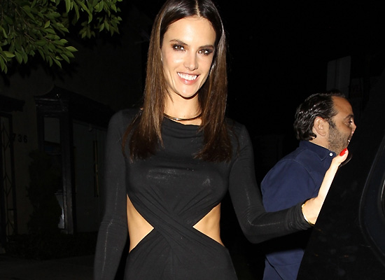 Alessandra Ambrosio birthday party
