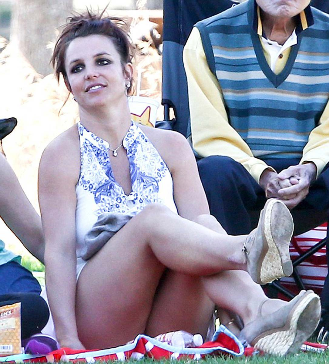 Huge britney spears upskirt galleries love the