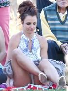 Britney Spears upskirt