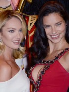 Candice Swanepoel & Adriana Lima Victoria's Secret press conference