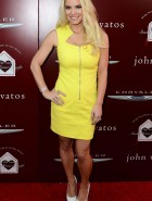 Jessica Simpson yellow dress