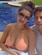 Kim Kardashian booty in bikini