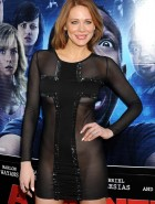 Maitland Ward see through dress