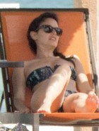 Rachel Bilson bikini by the pool
