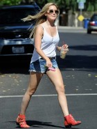Ashley Tisdale short shorts