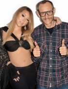 Mariah Carey in lingerie for Terry Richardson