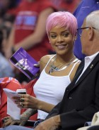 Rihanna clippers game