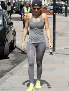 Rita Ora workout curves