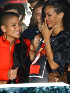 Cassie And Rihanna Laugh