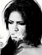 Cassie Smoking