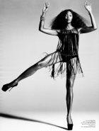Naomi Campbell Dancing