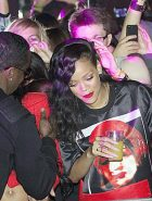 Rihanna talk going out