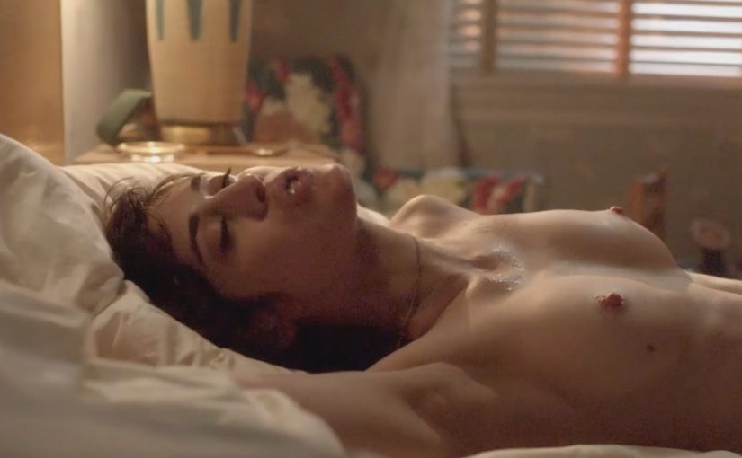 Lizzy Caplan Nude Boobs And Fucking In Masters Of Sex Series