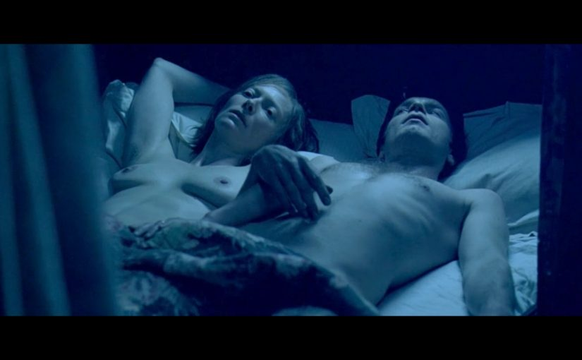 Tilda Swinton Nude Boobs And Nipples From Young Adam Movie