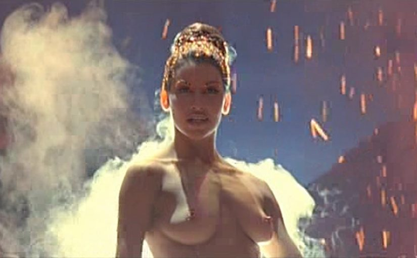 Gina Gershon Nude Boobs And Nipples In Showgirls Movie
