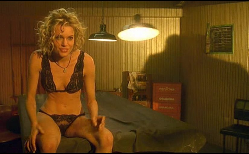 Rebecca Romijn Lap Dance In Femme Fatale Movie
