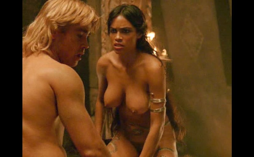 Rosario Dawson Nude Boobs And Fucking In Alexander Movie