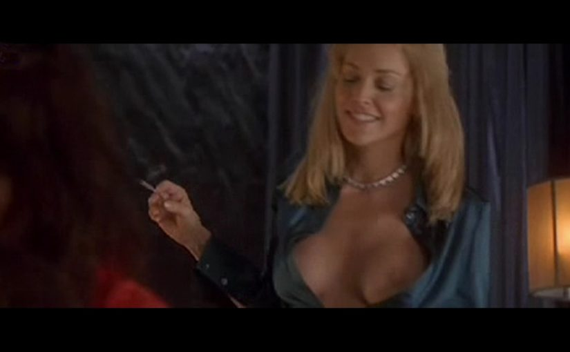 Sharon Stone And Anne Caillon Threesome Sex Scene In Basic Instinct 2 Movie