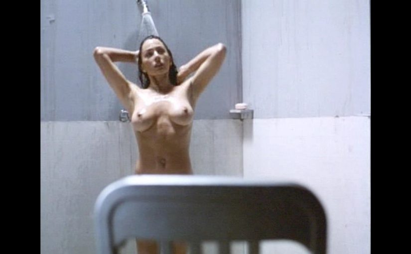 Krista Allen Hot Boobs Under The Shower In Haunted Sea Movie
