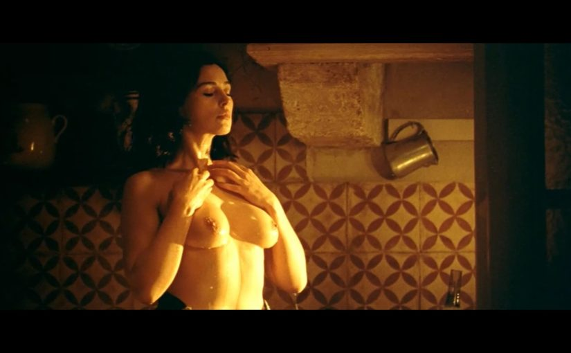 Monica Bellucci Nude Boobs And Nipples In Malena Movie