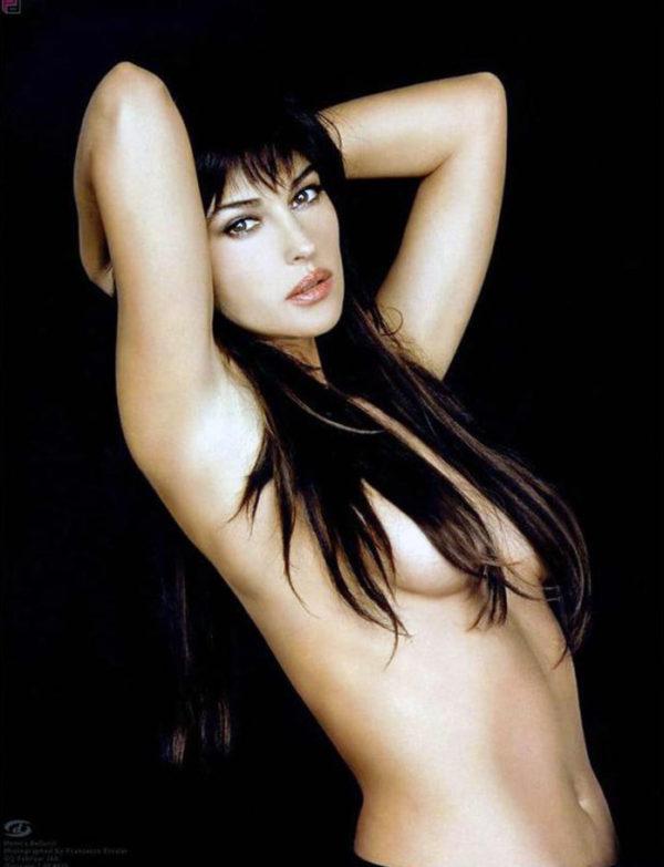 Bellucci nude maria Maria Bellucci