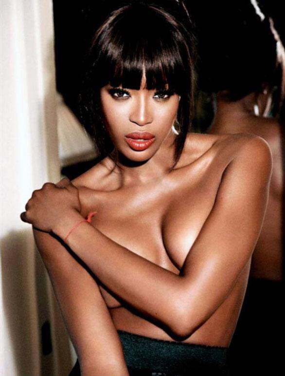Naked naomi Britain's female